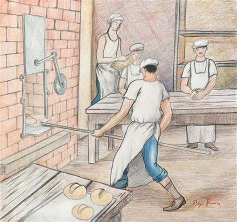 libro diego rivera the complete 97 in the style of diego rivera 1886 1957 colored pencil on p