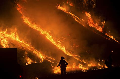 These Are Just Flames Burning In Your Fireplace by Computer Models Failing To Predict Path Of Wildfire Flames