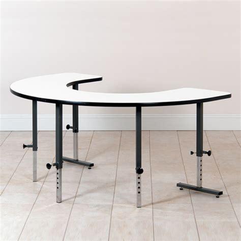 u shape table coast