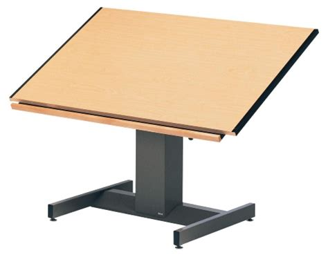 Mayline Futur Matic Adjustable Drafting Table At Hayneedle Drafting Table Definition