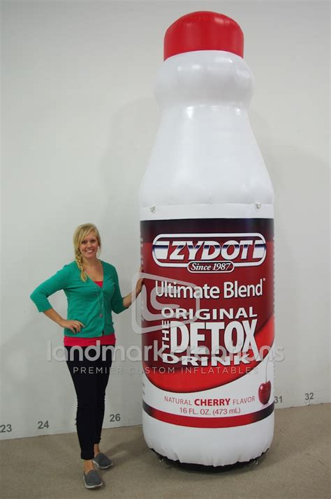 Zydot Detox Drink by Zydot Detox Drink Display For Trade Show