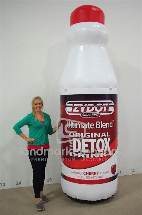 Lakes Detox by Land O Lakes Milk Bottle Replica