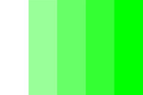 green color shades web safe shades of green color palette