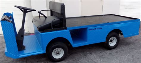 taylor dunn flatbed utility vehicle rental golf carts