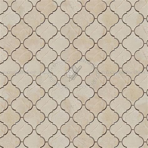 Marble Subway Tile Kitchen Backsplash arabesque cream marble tile texture seamless 14258