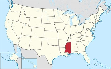 mississippi state map usa file mississippi in united states svg wikimedia commons
