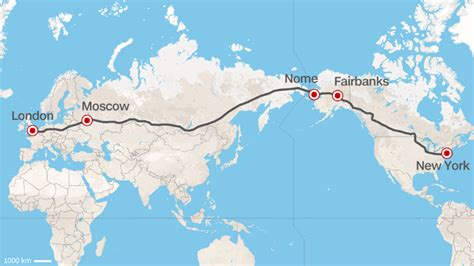 america russia map a potential bridge between russia and alaska could lead to