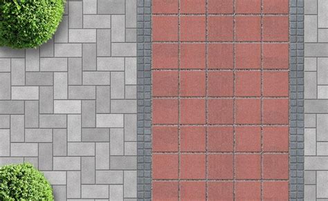 One Story House Designs popular paving patterns explained paving design options