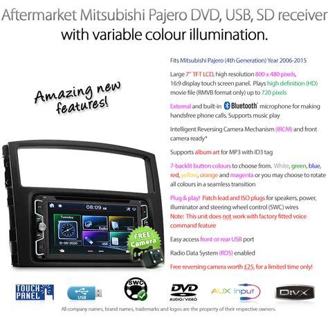 Frame Audio Frame Frame Headunit Pajero Sport 2009 2015 car dvd player mitsubishi pajero 2006 2015 stereo unit usb radio cd mp3 gt ebay