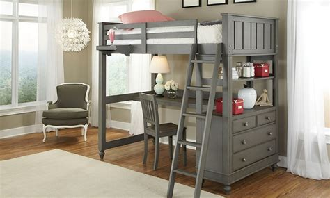 haynes furniture lakehouse twin loft bed desk