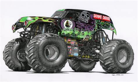 grave digger truck images grave digger by froggstomper79 on deviantart