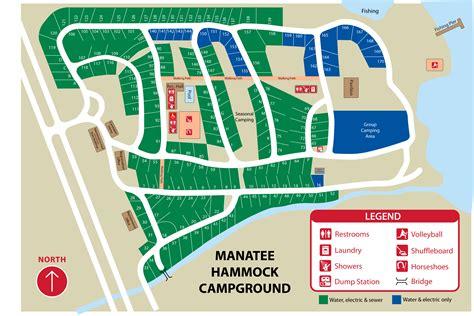 hammock resort map manatee hammock park
