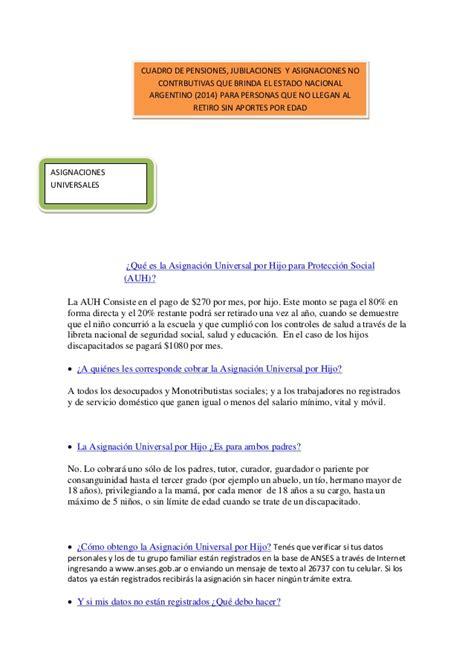 www cuanto es el aumento para pensiones 2016 en colombia requisitos para cobrar la asignacin universal por hijo