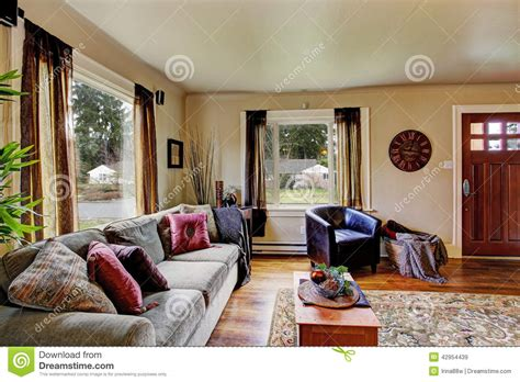 american home interiors living room interior in american house stock image image