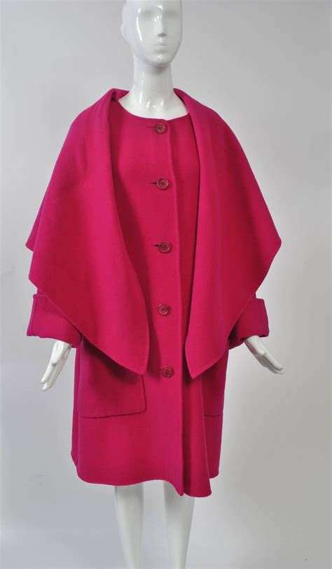 swing coats for sale 1980s fuchsia swing coat for sale at 1stdibs