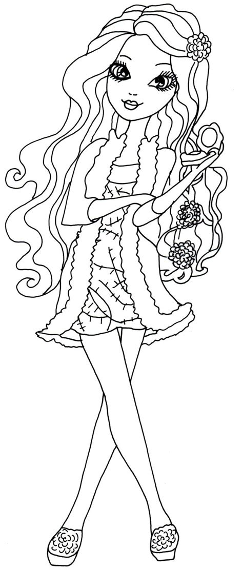 ever after high pet coloring pages 286 best 2 color ever after high images on pinterest