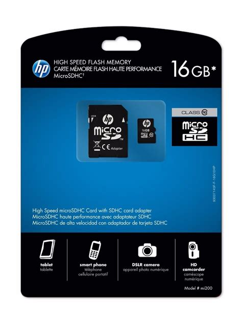 Micro Sd Hp 16gb Class 10 Original by Micro Sd Hp 16gb Class 10 L1891a Ge Frete R 10 00 R 67