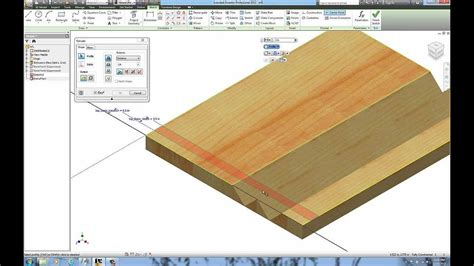 woodwork inventor woodworking miter folding with autodesk inventor