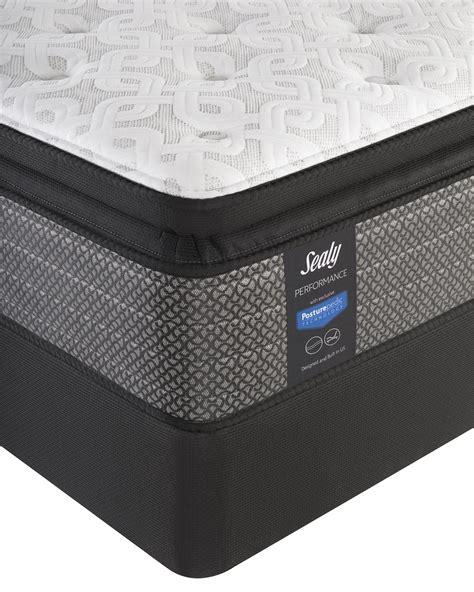 sealy response mccann plush pillowtop mattress