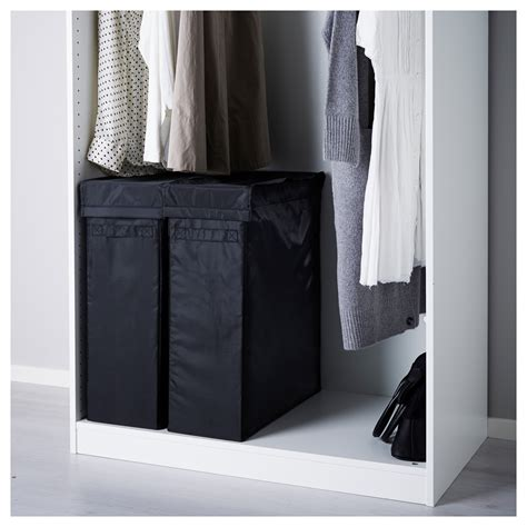 ikea laundry skubb laundry bag with stand black 80 l ikea
