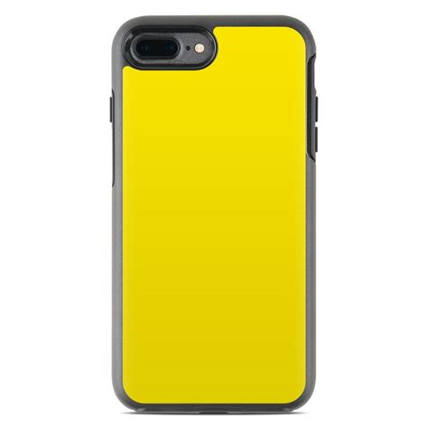 otterbox symmetry iphone 7 plus skin solid state yellow by solid colors decalgirl