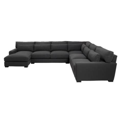 z gallerie pauline chaise cooper sectional 4pc with chaise from z gallerie