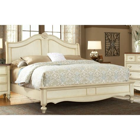 country style headboards chateau french country style sleigh bed dcg stores