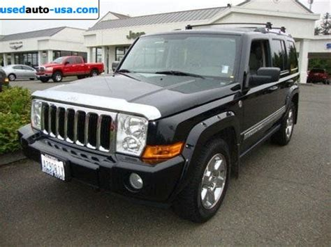 2006 Jeep Commander Limited For Sale For Sale 2006 Passenger Car Jeep Commander Limited