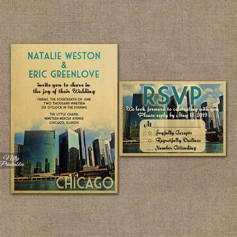 wedding invitations in chicago chicago wedding invitations vtw nifty printables