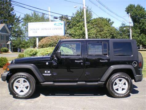 2009 Jeep Wrangler 4 Door by Sell Used 2009 Jeep Wrangler Unlimited X Sport Utility 4 Door 3 8l In Danvers Massachusetts