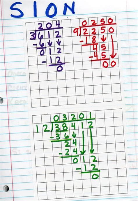 printable graph paper for division free printable long division worksheets on graph paper