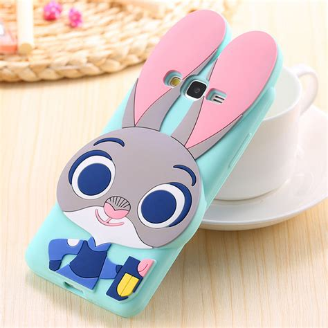 Samsung J7 Prime 3d Panda Softcase Silikon Soft Ca Limited zootopia 3d judy rabbit soft silicone cover for samsung galaxy grand prime