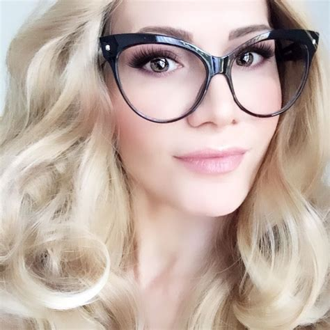 Cat Oversize Glasses oversized large cat eye black