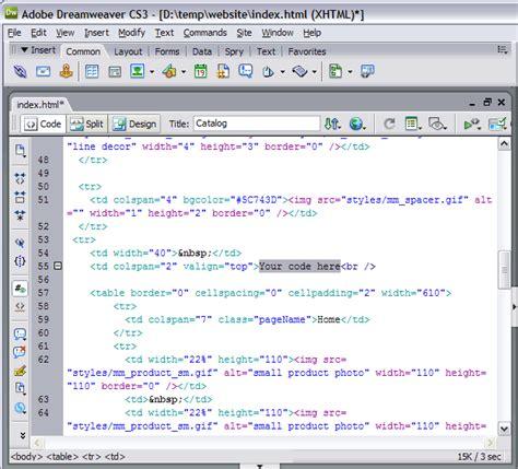 dreamweaver tutorial javascript pasting arabic into dreamweaver template