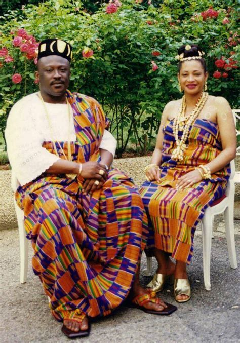 ghana african traditional outfit akan wedding west africa wedding pinterest africans