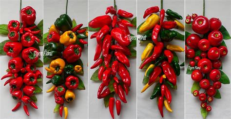 chili pepper home decor red chili pepper swag kitchen restaurant decor ebay