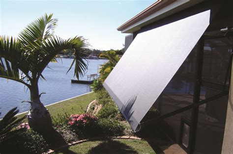 Drop Arm Awning by Drop Arm Pivot Arm Awnings Noosa Screens And Curtains