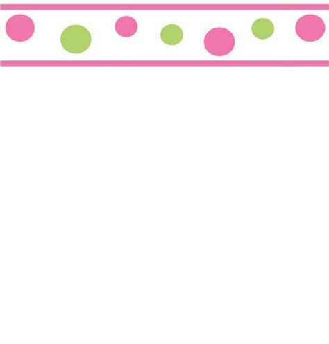 Jw Wallborder Pink Green Background pink and green circles wallpaper border 15 x 6 inches green walls sweet and circles