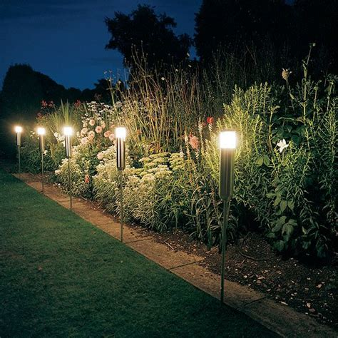 individual solar lights 25 best ideas about lighting for gardens on