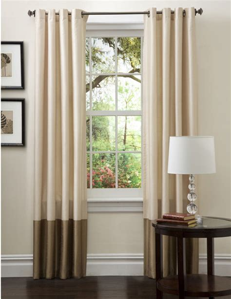 taupe curtain panels prima ivory taupe curtain panels set of 2