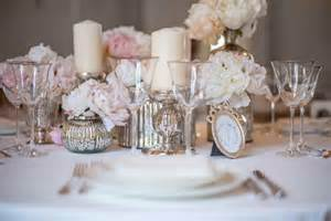 Shabby Chic Vase Decoration Table Mariage Boheme Chic