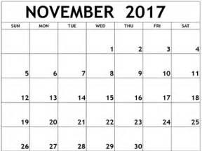Calendar November 2017 Image Calendar November 2017 Usa Calendar And Images