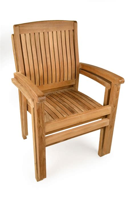 Teak Garden Chairs Oxford Teak Stacking Chairs Grade A Teak Furniture