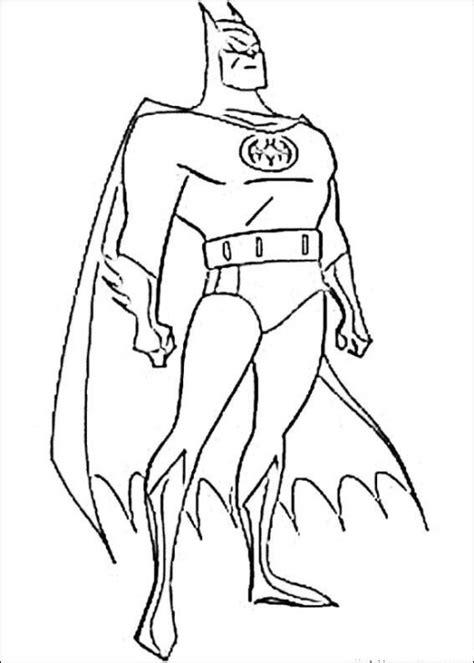 superhero coloring pages printable free batman superhero coloring pages printable 4456cf