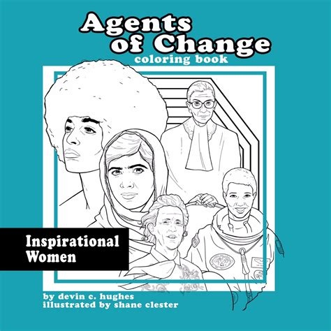 coloring book release agents of change inspirational coloring book