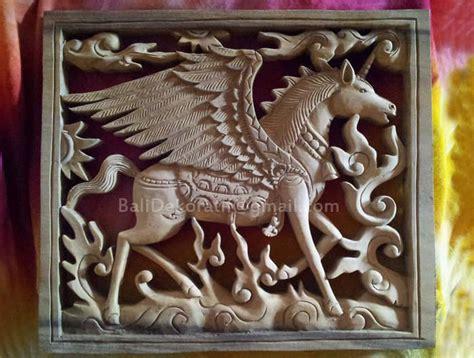 Hiasan Dinding Patung Kuda gambar jual hiasan dinding ukiran bali relief motif kuda