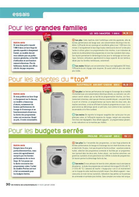 Lave Linge Grande Capacite 4221 by Meilleur Lave Linge Grande Capacite Pas Cher