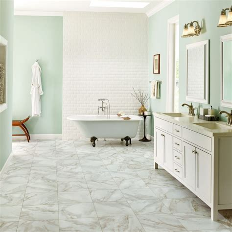 bathroom floor designs bathroom flooring guide armstrong flooring residential
