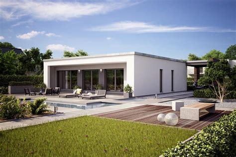 bungalow flachdach fertighaus finess bungalow wohnen auf einer ebene
