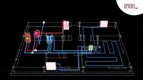 termocamino riscaldamento a pavimento impianto di riscaldamento a legna e pellet ad acqua